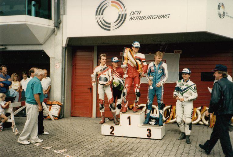 Siegerehrung Nürburgring